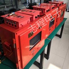 提升機閘瓦間隙電機主軸承溫度振動監測
