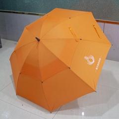 30寸真双层直杆纤维广告伞创意伞东方名源酒店商务伞礼品伞广告伞