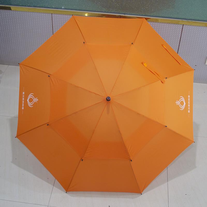 30寸真双层直杆纤维广告伞创意伞东方名源酒店商务伞礼品伞广告伞 4