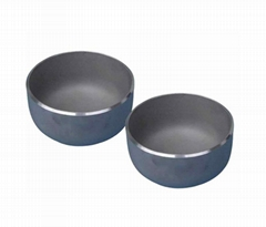 Butt welded carbon steel pipe fittings schedule 40 steel end cap