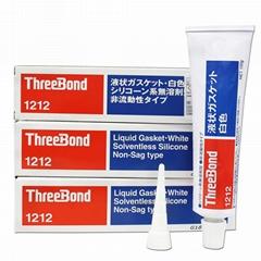 原装日本threebond三键TB1212防水密封绝缘耐高温机械填充胶水
