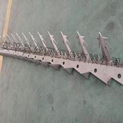 大號刺釘304不鏽鋼工廠大門護欄防盜防爬刺