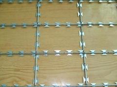 焊接式篱笆型刀片刺网