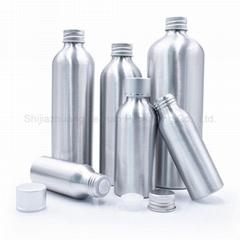 High Quality Sliver 30ml 50ml 80ml Aluminum Bottles