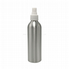 Factory wholesale cosmetic package aluminum spray bottle