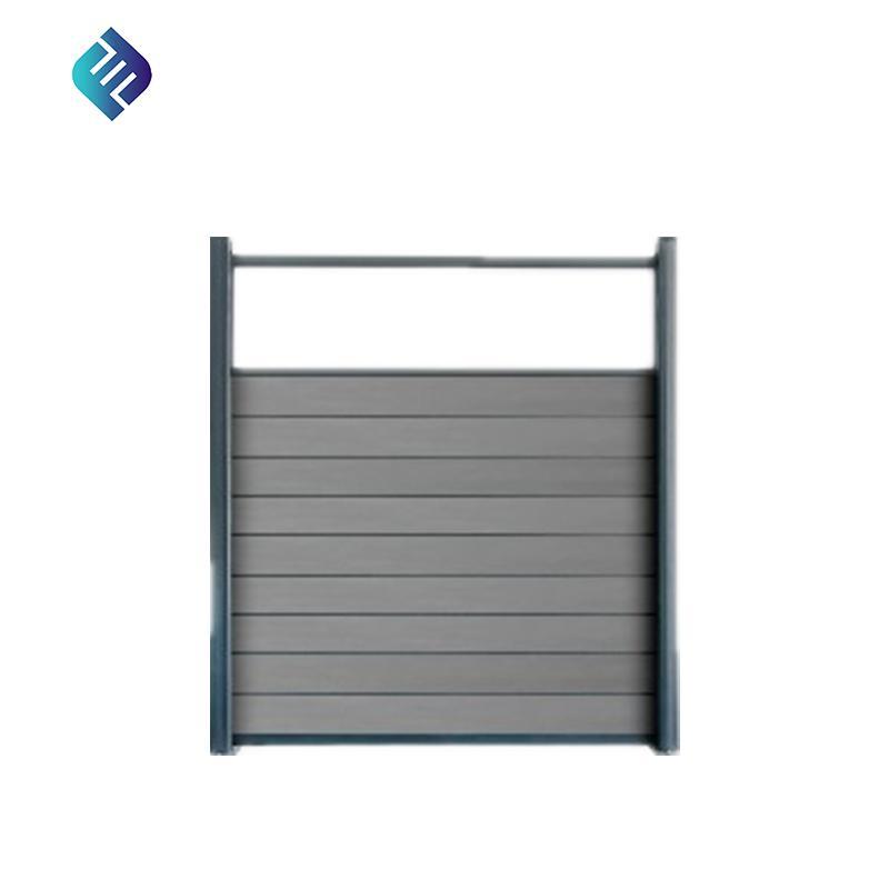 wood plastic composite wpc fence panel 1