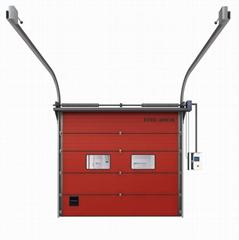 Industrial Vertical Lift Rolling Insulated Aluminium Garage Sectional Door