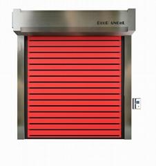 High Quality Outdoor Hurricane Resistance Insulation Door Roll Up Door Industria