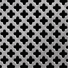 Multiple Mesh Patterns Perforated Metal Sheet Aluminum Steel Stainless Steel