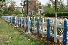 PVC塑钢绿化围栏 草坪护栏
