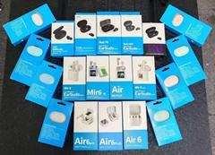 2021 hot new Solar earphones Wireless bluetooth  earphones headsets headphones