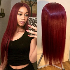 New long straight wigs Simulation Human Hair full wig good quality for women