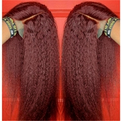New Curly straight wigs Simulation Human Hair full wig Europ style  for women