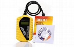 code reader car diagnostic tool T40 in yellow -Mini-carriage Multilingual