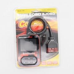 OBD2 JOBD car diagnostic scanner updateable T30 review live datastream