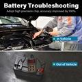 car charging cranking test 12V lead acid/lithium Auto car battery tester