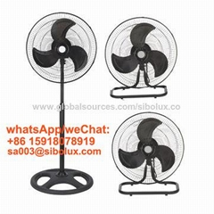 18 inch 3in1 high velocity industrial stand wall floor fan ventilador