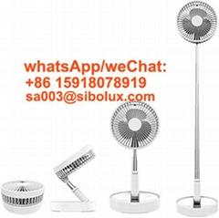 mini portable Foldable Fan Desk Fan High Efficiency Usb Rechargeable