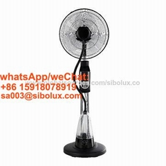 16 inch misting fan with remote control and LED diaplay/ventilador stand fan