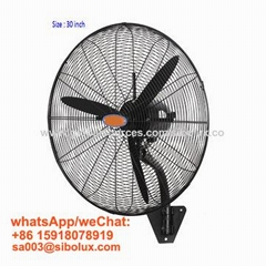 26inch 30 inch industrial wall fan/ventilador /oscillating cooling fan