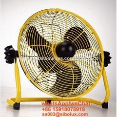 12 inch 14inch 16inch Rechargeable outdoor fan
