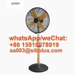 16 inch 18 inch metal vintage stand electric fan with remote control