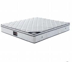 AIU酒店床垫厂家批发维也纳独立弹簧乳胶席梦思民宿宾馆床垫定制