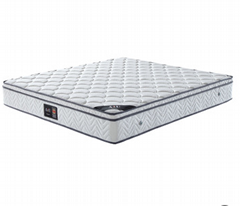 AIU酒店床墊廠家批發維也納獨立彈簧乳膠席夢思民宿賓館床墊定製