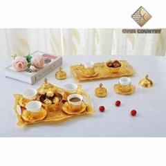 Gold Tea set wholesale