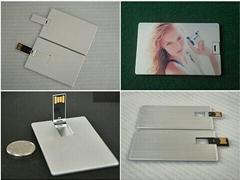 Metal Name Card USB Flash Drive