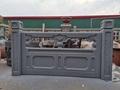 GRC水泥仿石栏杆桥梁河道人造石混凝土仿大理石护栏制作安装 4
