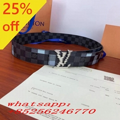 2021               Classic Letter Buckle Double Sided Belt