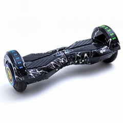 ELECTRIC SCOOTER 8″ TWO-WHEELED ELECTRIC SELF BALANCE SCOOTER SKATEBOARD HOVERBO