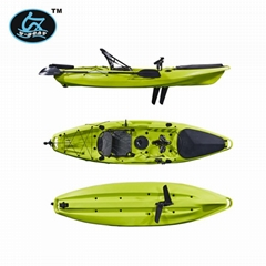 New and Good Upgraded Ocean Pedal Drive Fishing Kayak with Flexible Fins