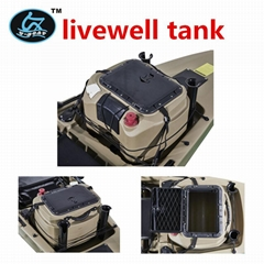 good quality lldpe plastic rotomolded livewell tank accessories for fishing boat