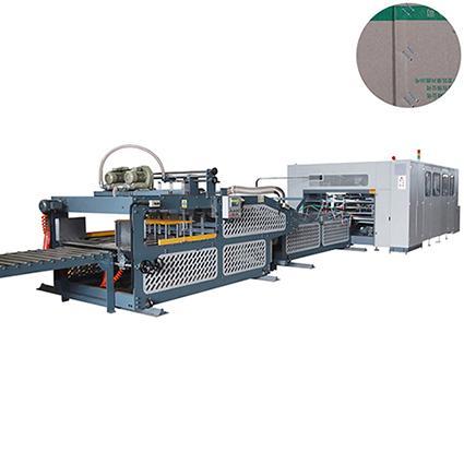 corrugated carton box folder gluer stitcher machine with double wall 1
