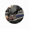 corrugated carton box folder gluer stitcher machine with double wall 4