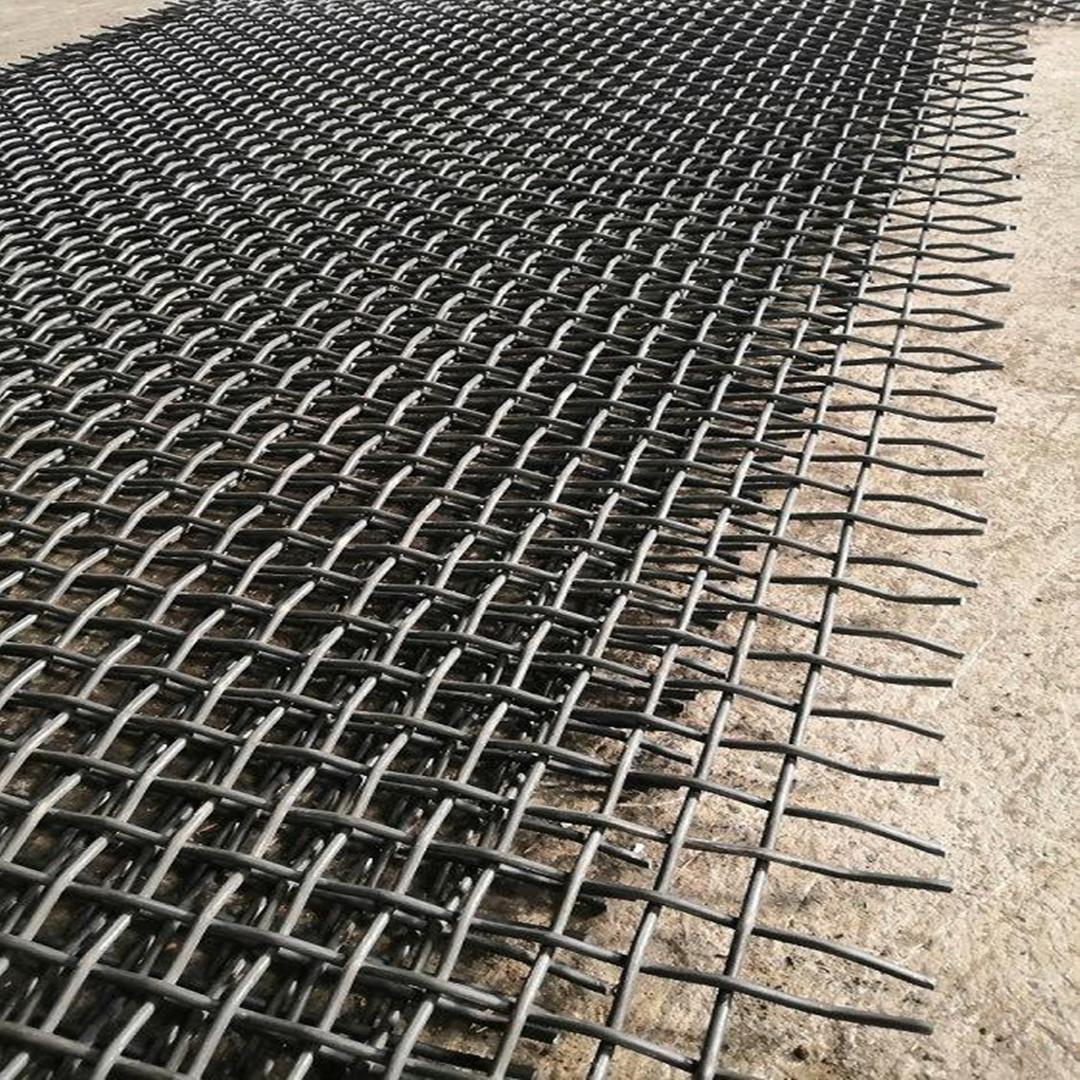 矿山机械锰钢编织筛网 1