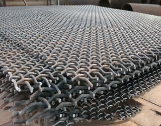 矿山机械锰钢编织筛网 2