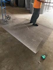 厂家现货304材质不锈钢轧花网