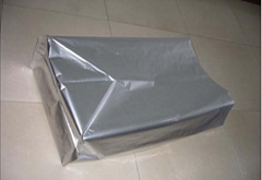 Three dimensional aluminum foil bag