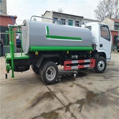 綠化小型灑水車東風福瑞卡5方小型灑水車