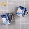 Custom Design Creative Pottery Ceramic Mug Tea Cup With Handle  2