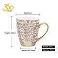 Custom Design Creative Pottery Ceramic Mug Tea Cup With Handle  5