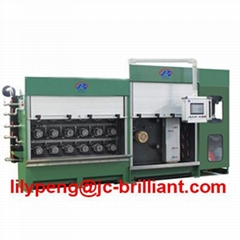 Multi copper wire drawing machine for 4 wires