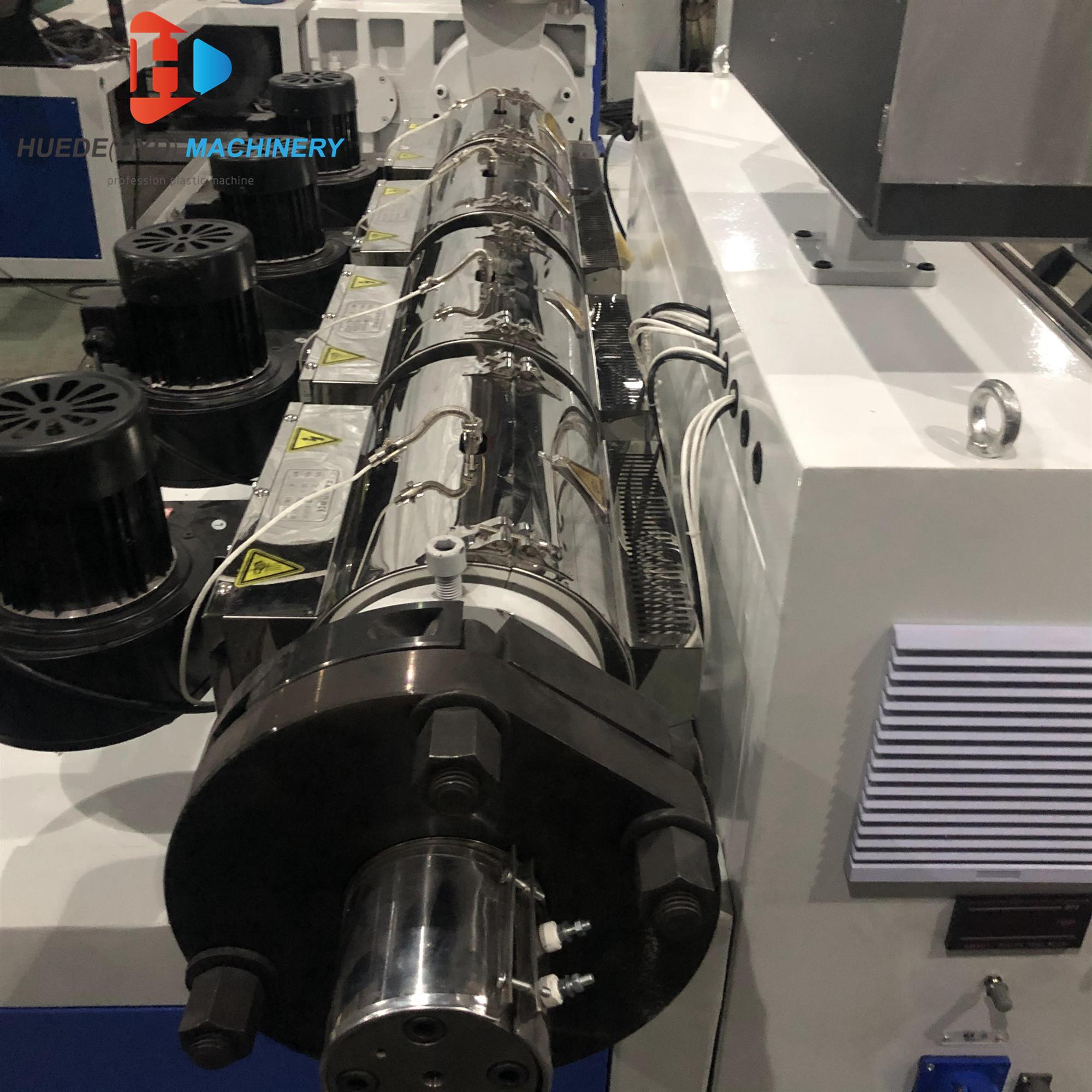 SJ50 Single Screw Extruder For HDPE Tubes ABS PVC Film Sheet Extruder Machine 2