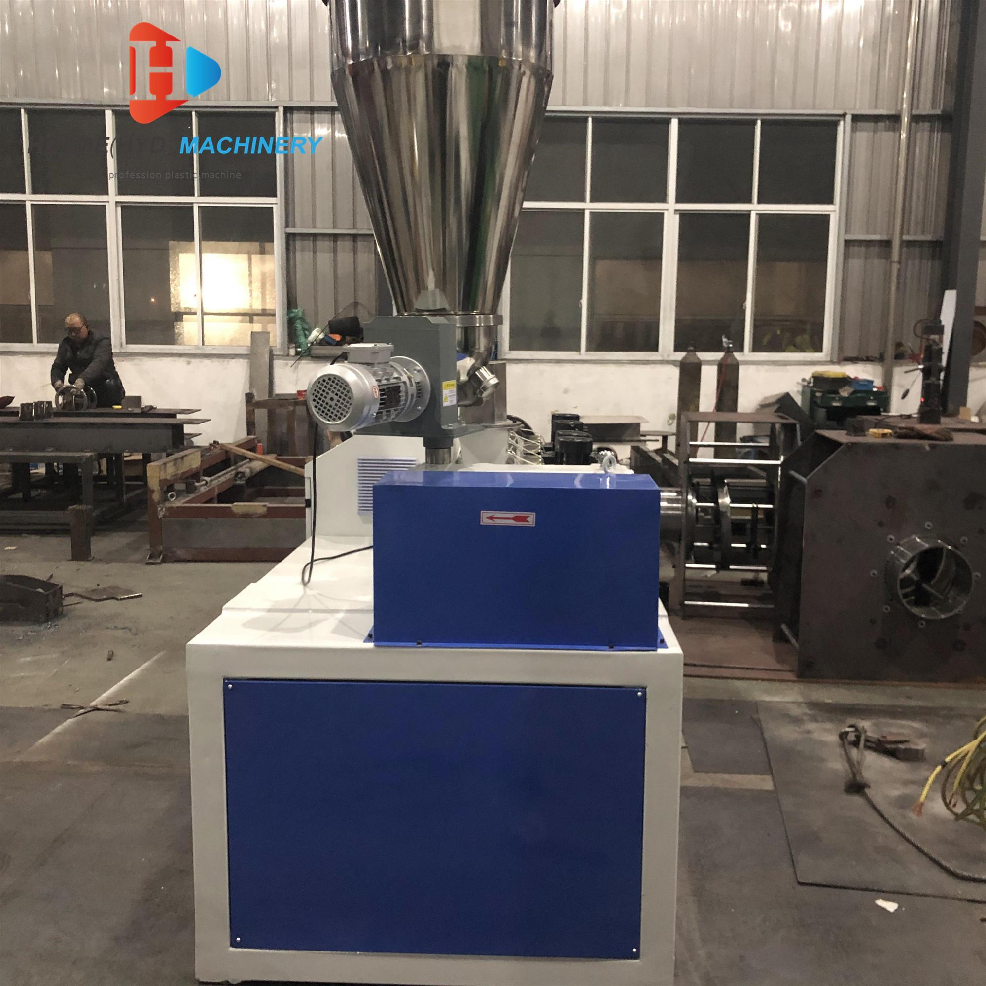 SJ50 Single Screw Extruder For HDPE Tubes ABS PVC Film Sheet Extruder Machine 3