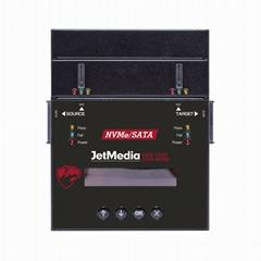 捷美JetMedia PS100雙訊號M.2 NVMe PCIe硬盤拷貝機