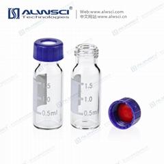 9-425透明2mL樣品瓶液相氣相9mm廣口進樣瓶