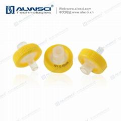 Labfil Yellow Nylon Syringe filter
